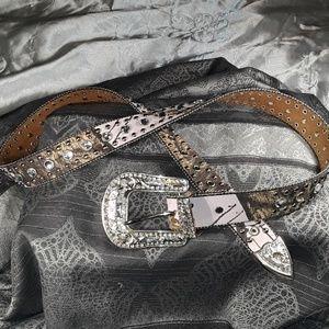 Blazing Roxx Mossy Oak Belt